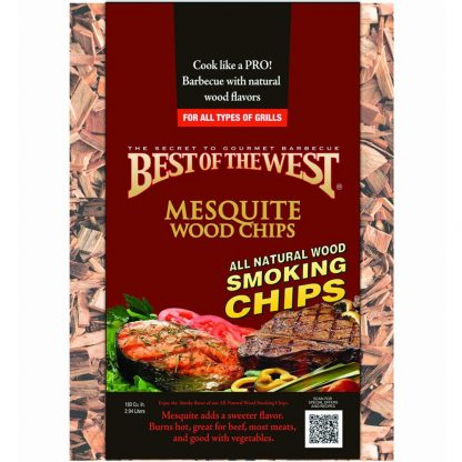 best of the west mesquite houtsnippers groot
