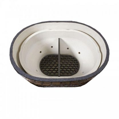 primo grill oval xl vuur box