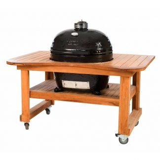 primo grill oval xl teaktafel