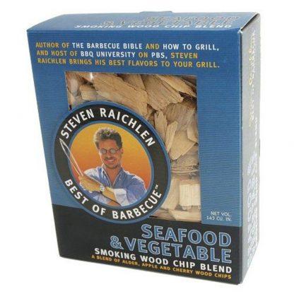 steven raichlen wood chips seafood vegatable