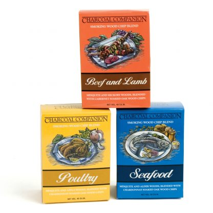 charcoal companion wood chip blends